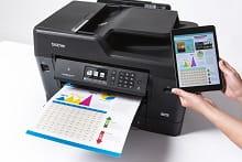 Stampa da tablet con la stampante multifunzione professionale inkjet Brother MFC-J6930DW