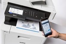 Stampa da smartphone con stampante multifunzione laser a colori a colori MFC-L8900CDW