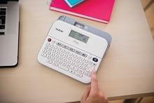PT-D400 utilizzo display grafico dell'etichettatrice professionale