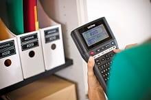 PT-H500 etichettatrice palmare organizza faldoni ufficio