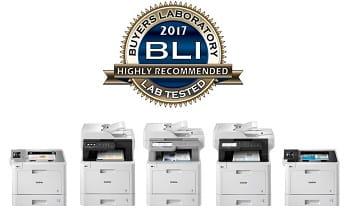 "Certificazione ""Highly Recommended"" di BLI per stampanti laser a colori Brother L8000 e L9000"