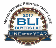 Logo BLI Line of the 2017 per stamanti e multifunzione laser monocromatici Brother