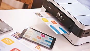 Stampa da tablet con stampante multifunzione inkjet MFC-J4420DW