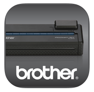 Logo app Brother PJ-673 print