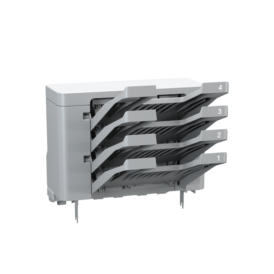 MX-4000 Unità mailbox a 4 scomparti