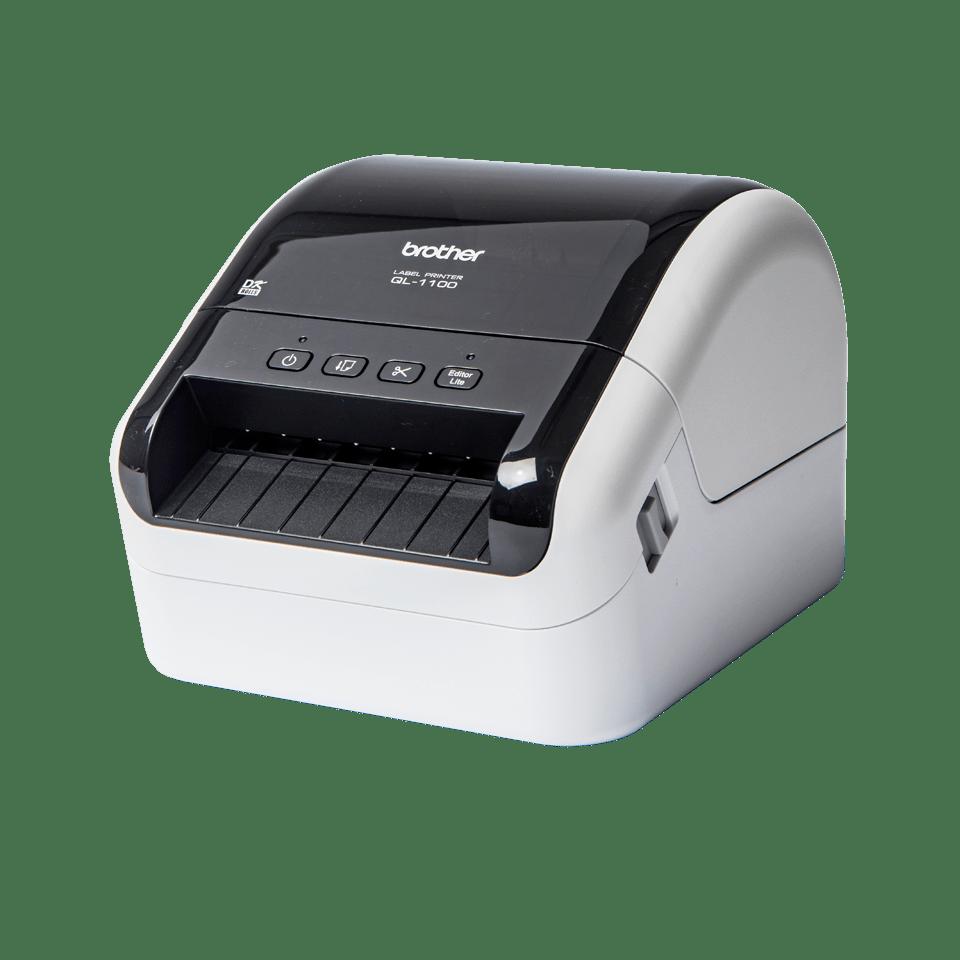 QL-1100 stampante di etichette professionale per grandi formati fino a 4'' 2