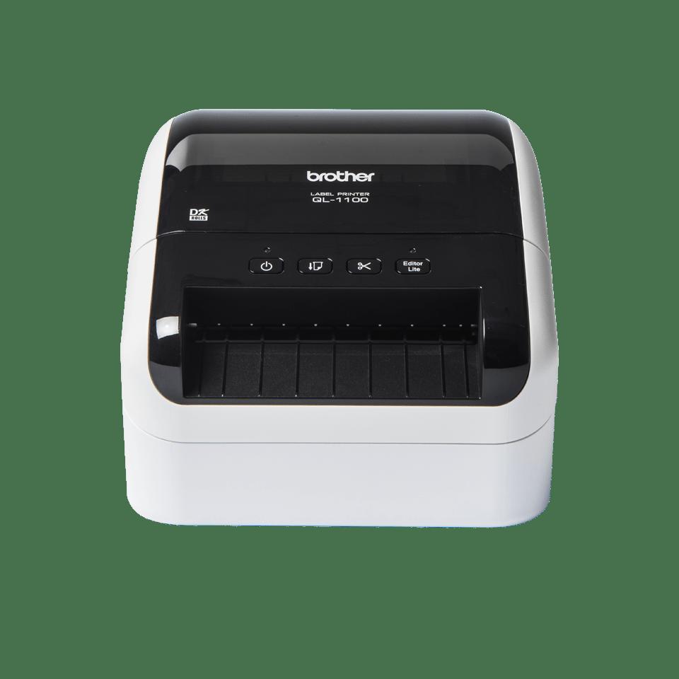 QL-1100 stampante di etichette professionale per grandi formati fino a 4'' 6