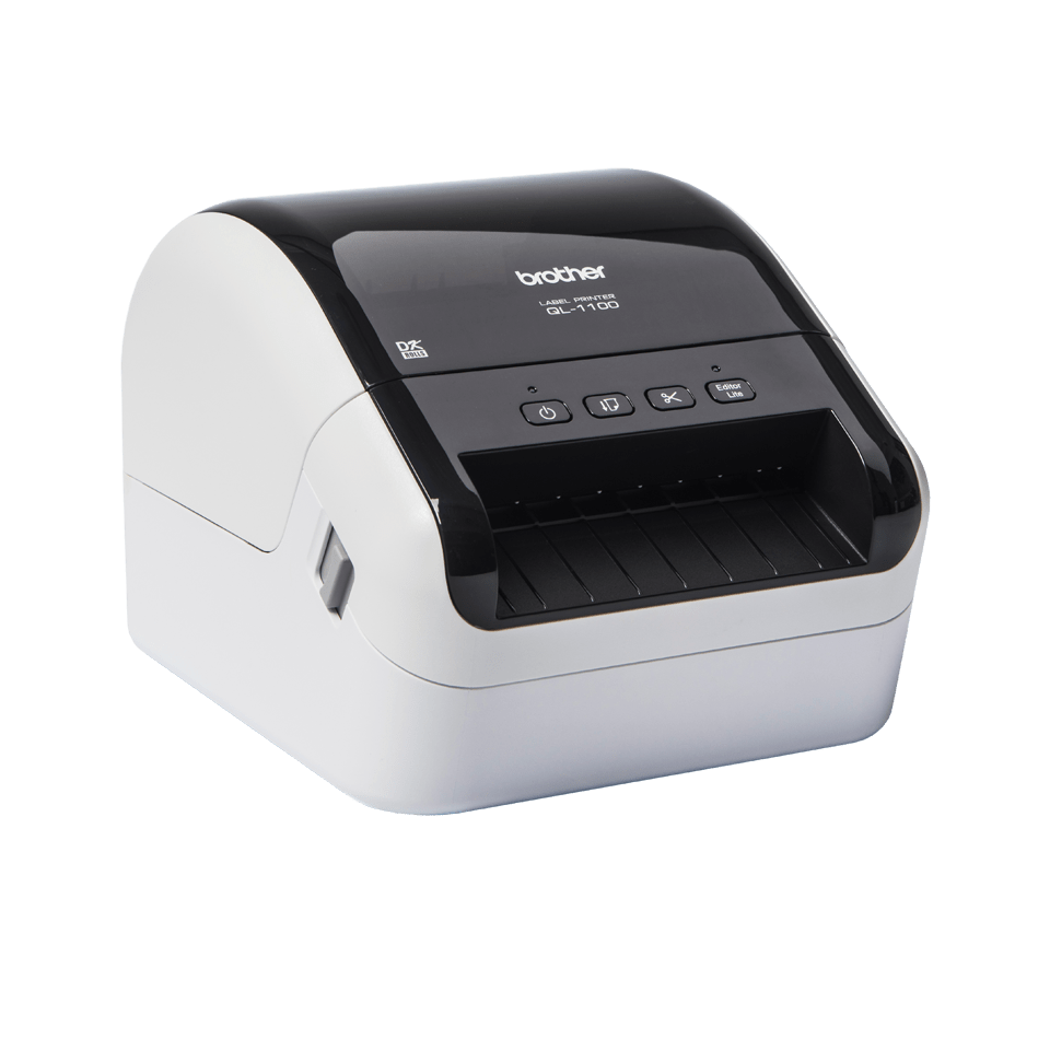 QL-1100 stampante di etichette professionale per grandi formati fino a 4'' 3