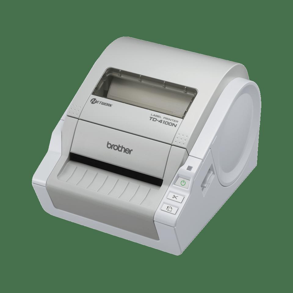 TD-4100N Stampante per etichette professionale con rete incorporata
