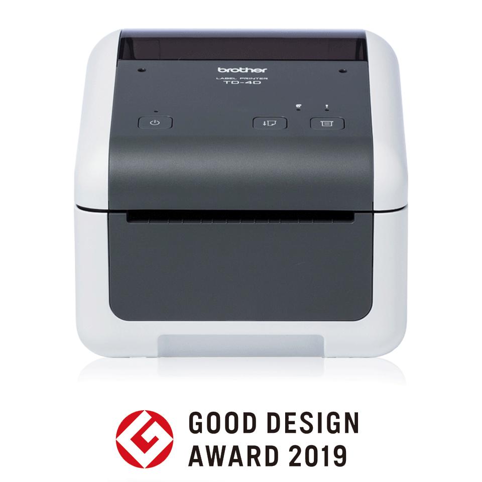 TD-4410D Stampante di etichette desktop professionale