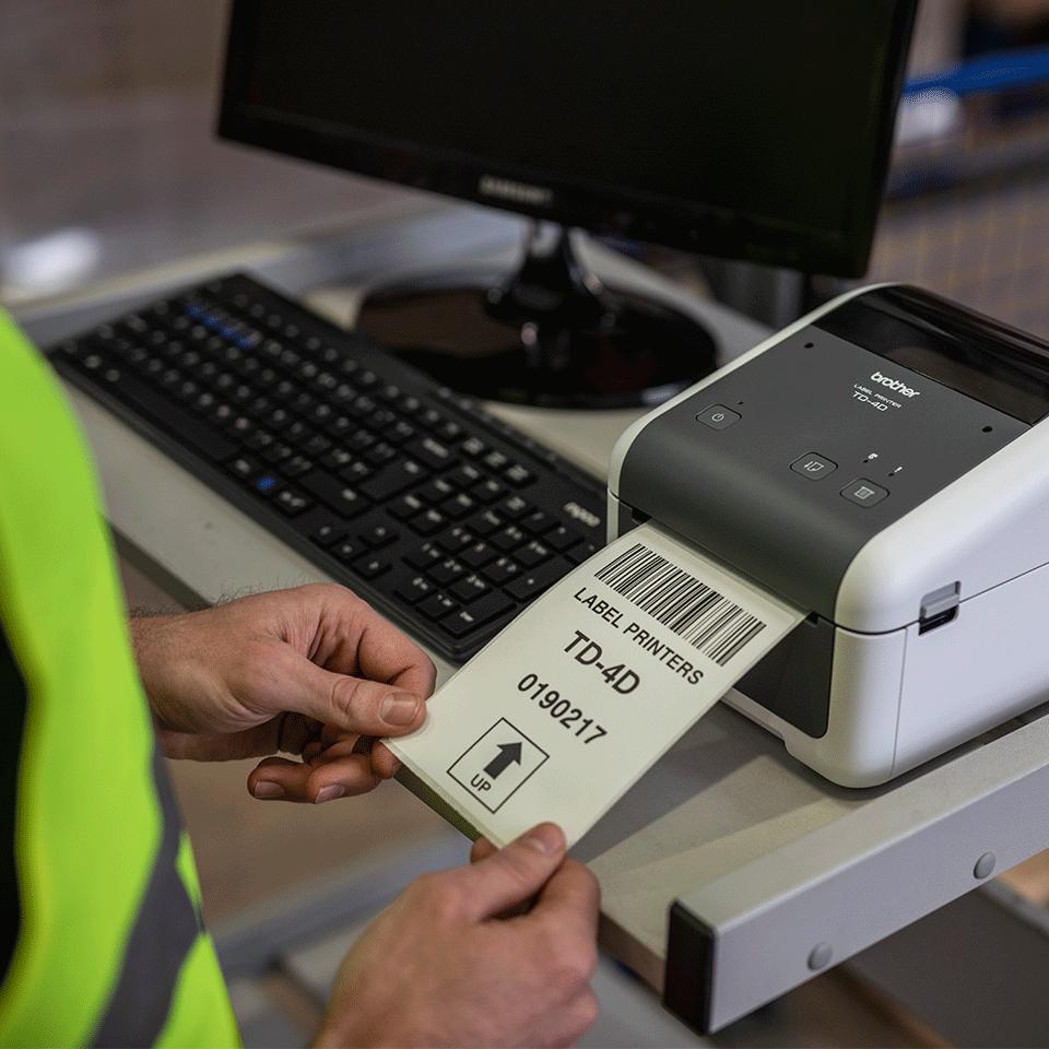 TD4520DN Stampante di etichette desktop professionale con interfaccia LAN 5