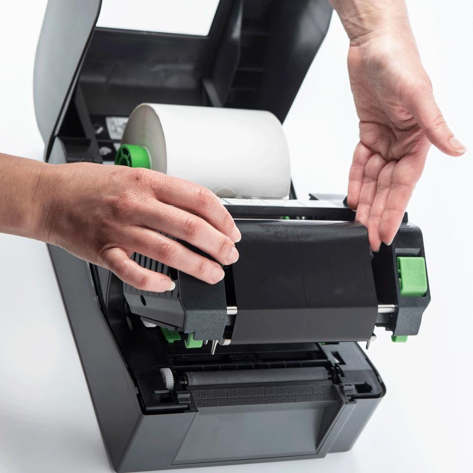 Brother TD-4520TN Stampante di etichette desktop professionale a trasferimento termico 5