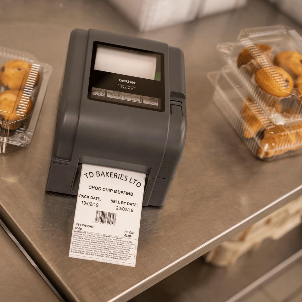 Brother TD-4520TN Stampante di etichette desktop professionale a trasferimento termico 8