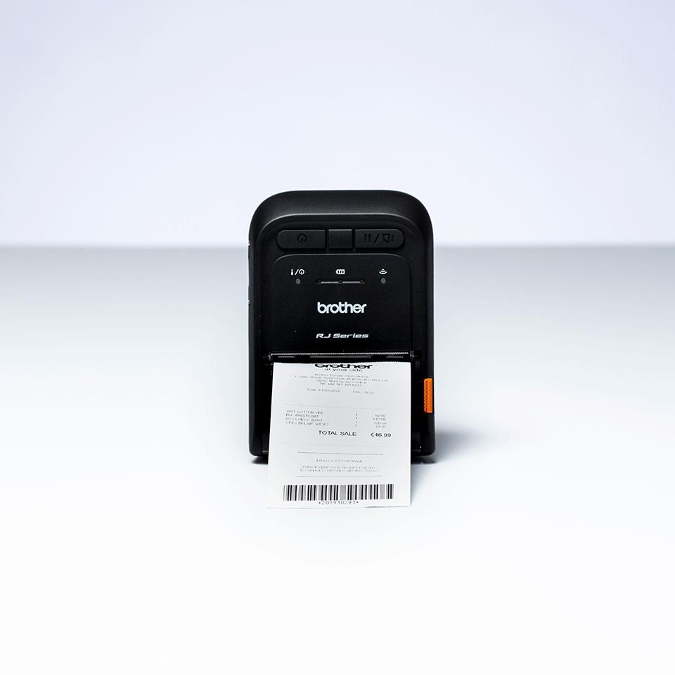 RJ-2055WB stampante portatile per etichette e ricevute 5