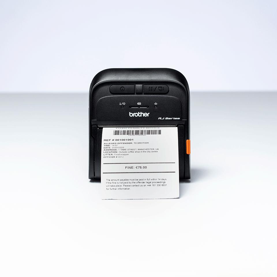 RJ-3035B stampante portatile per etichette e ricevute 5