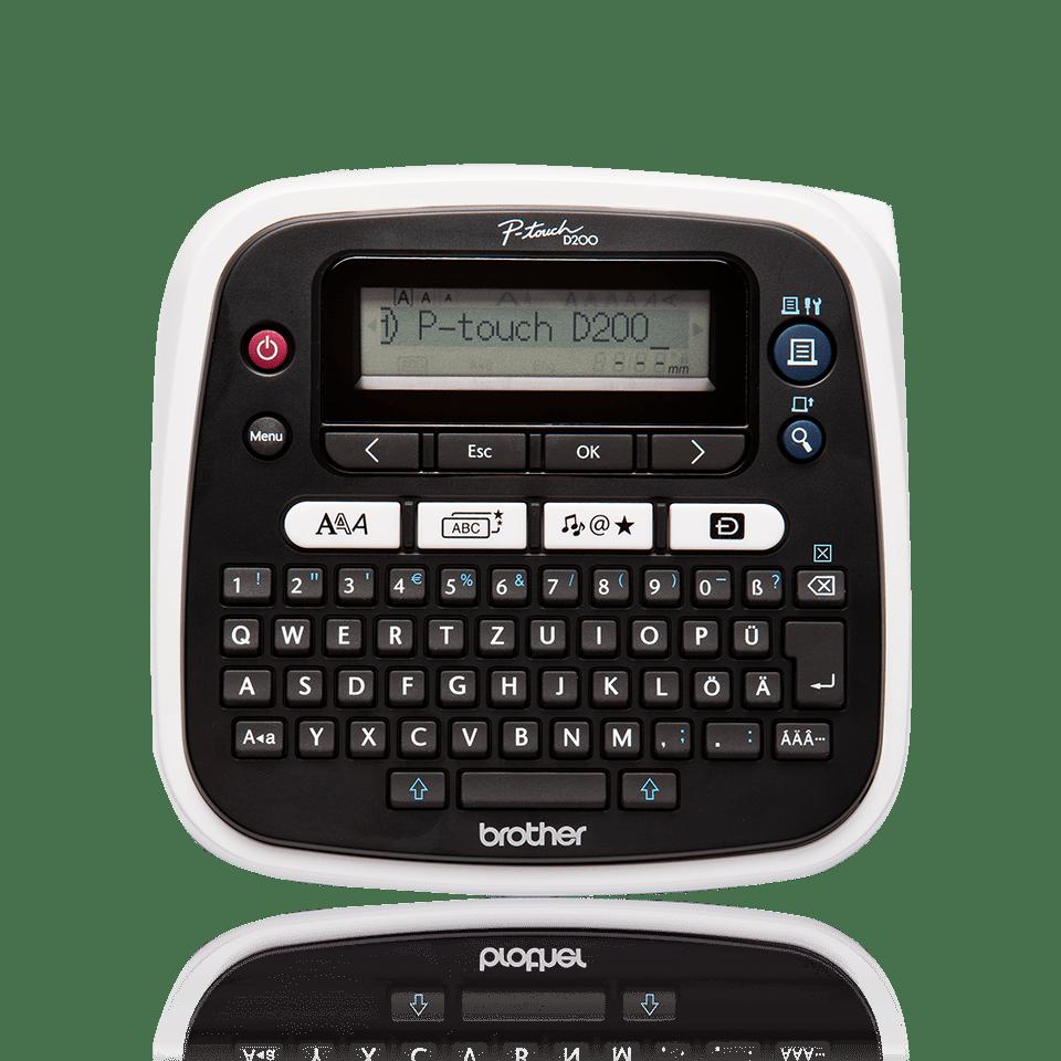 PT-D200BW Etichettatrice desktop 2
