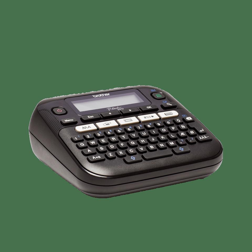 PT-D210 Etichettatrice desktop professionale