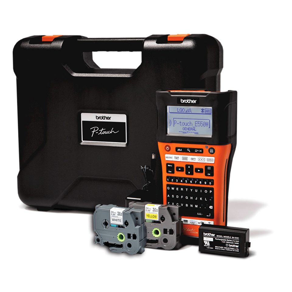 PT-E550WVP Etichettatrice per il settore elettrico 2