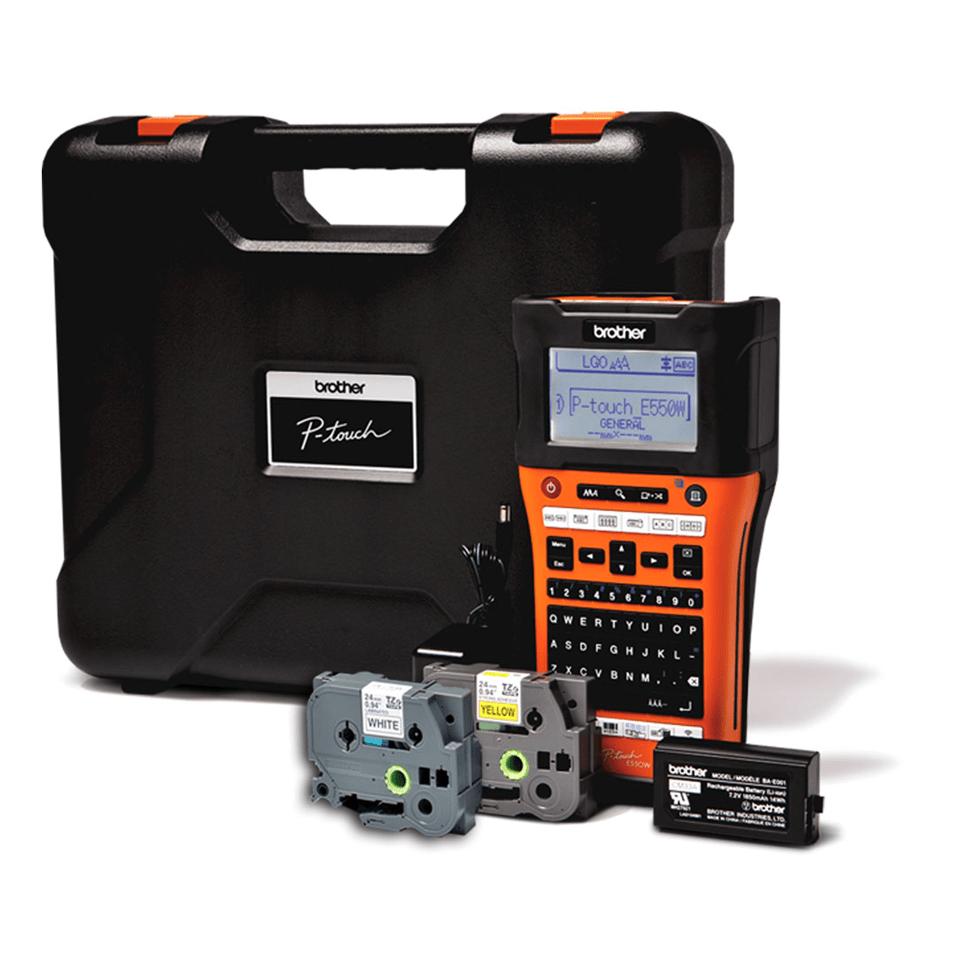 PT-E550WVP Etichettatrice per il settore elettrico 1