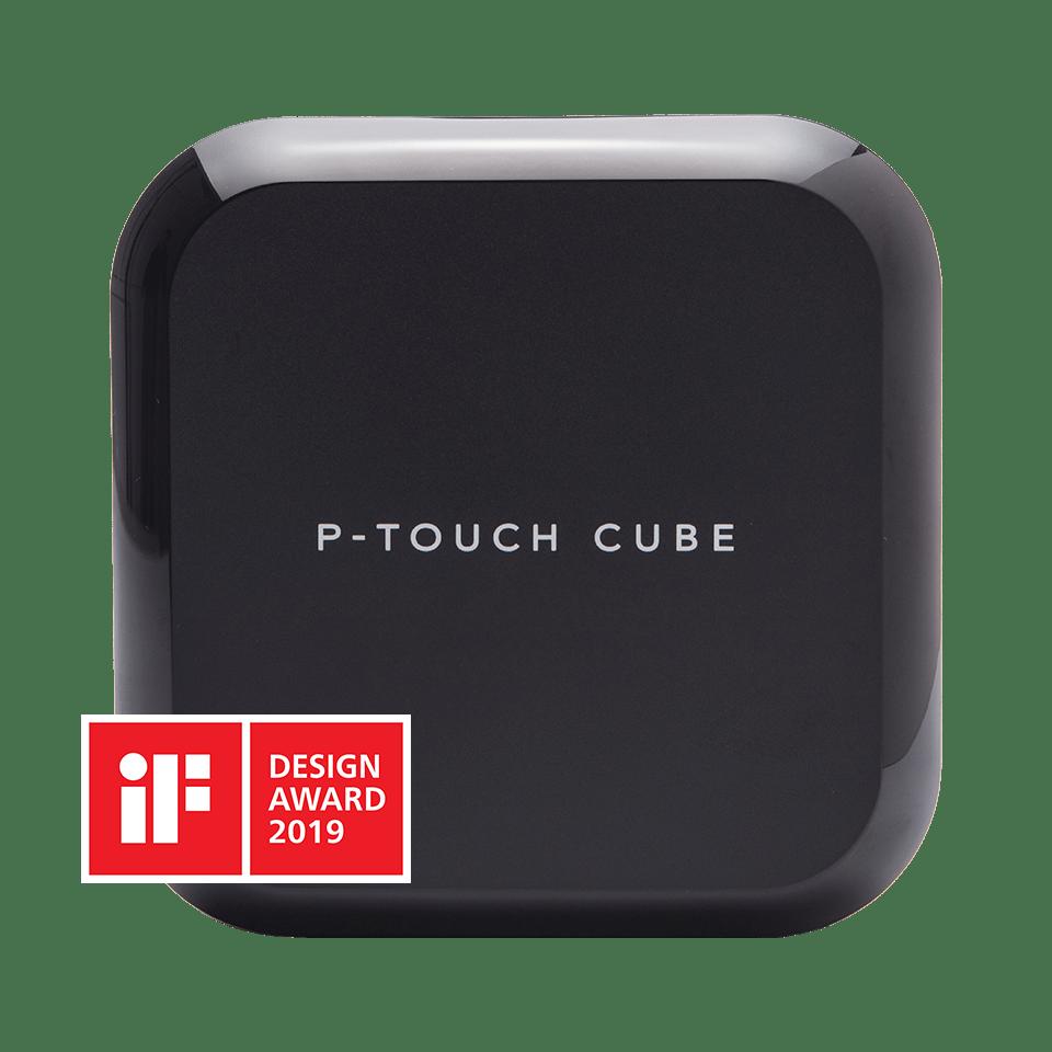 P-touch CUBE Plus Etichettatrice con Bluetooth e compatibilità MFi 3