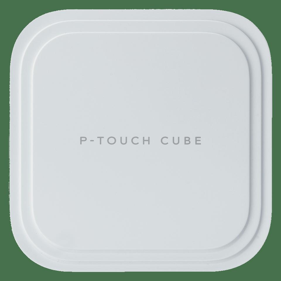 P-touch CUBE Pro (P910BT) label printer side shot
