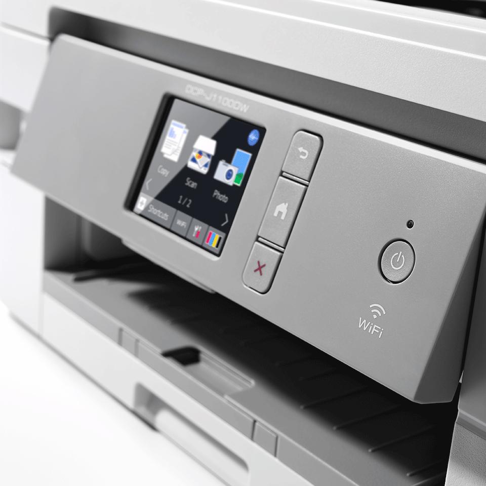 DCP-J1100DW Stampante multifunzione inkjet con inclusi 3 anni di stampe 5