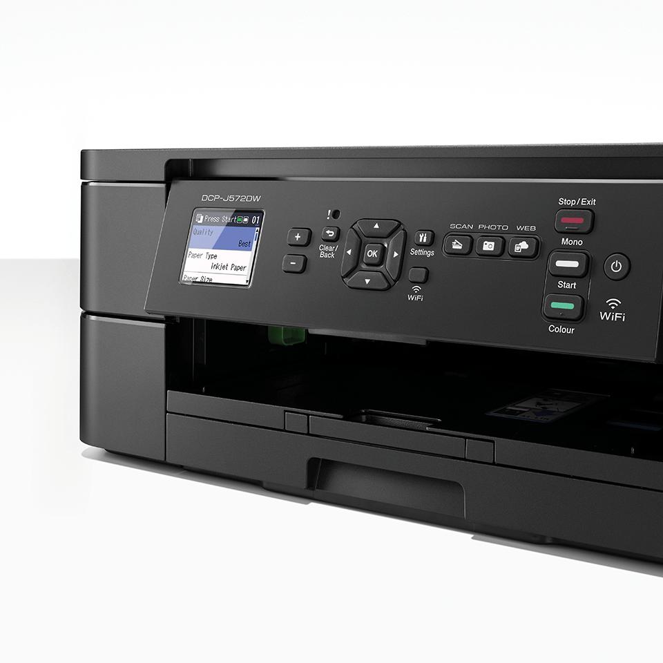 DCP-J572DW Stampante multifunzione inkjet compatta con Wi-FI 6