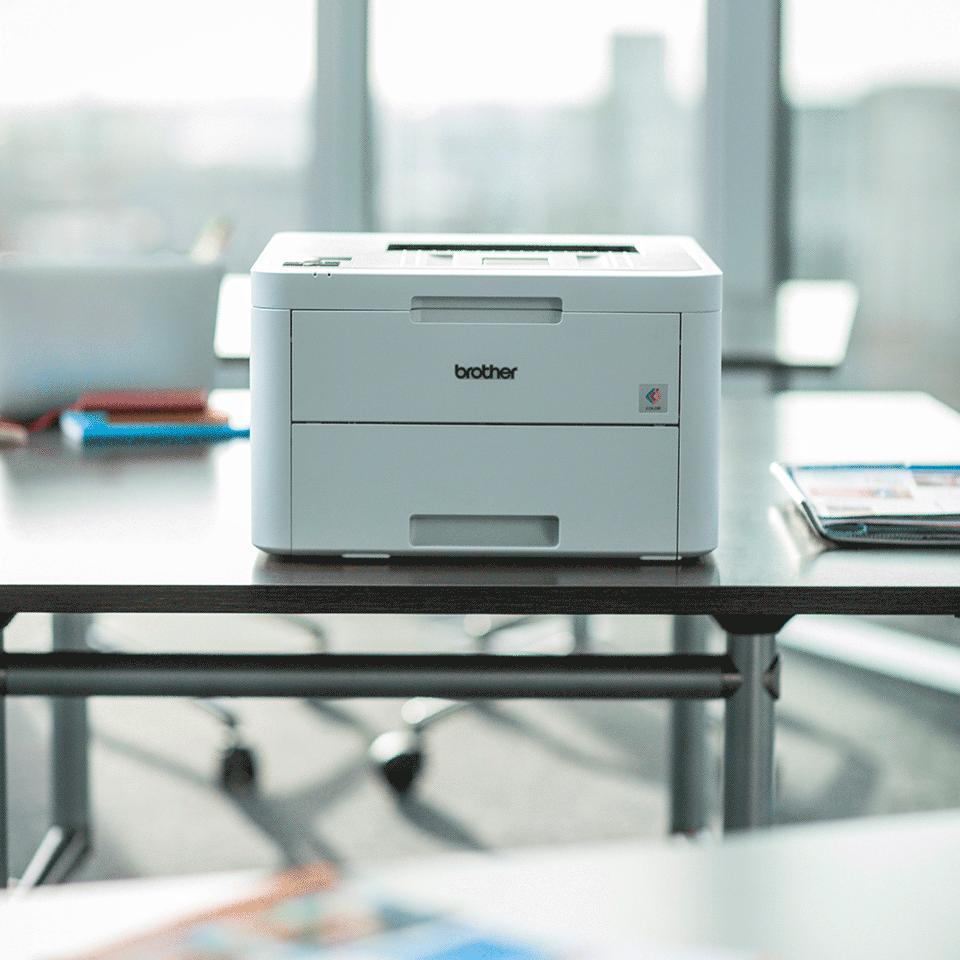 HL-L3230CDW Stampante LED a colori con Wi-Fi, stampa fronte-retro automatca, Ethernet 4