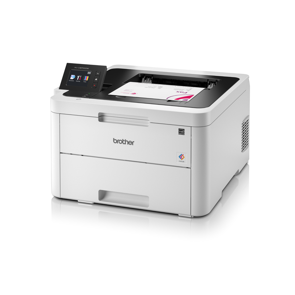 HL-L3270CDW Stampante LED a colori con Wi-Fi, stampa fronte-retro automatica, Ethernet, display touchscreen
