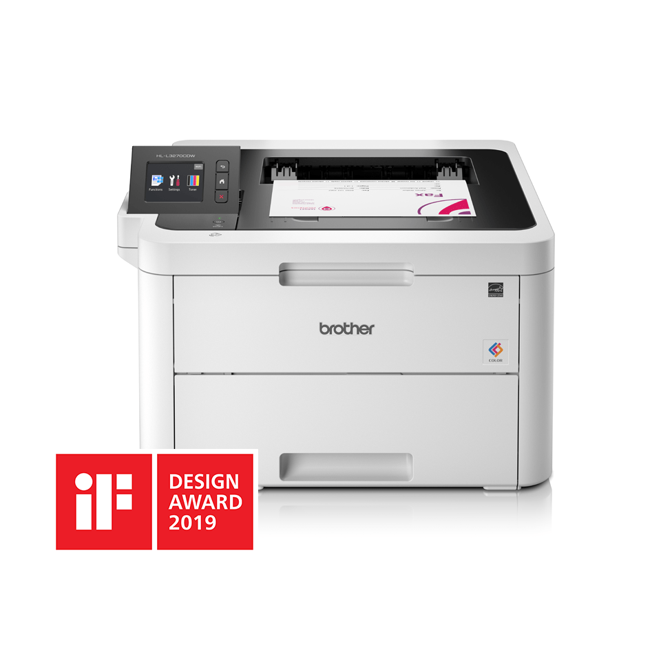 HL-L3270CDW Stampante LED a colori con Wi-Fi, stampa fronte-retro automatica, Ethernet, display touchscreen 6