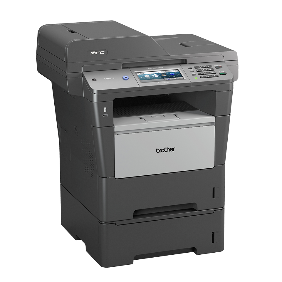 MFC-8950DWT Stampante multifunzione laser monocromatica con doppio cassetto carta 3