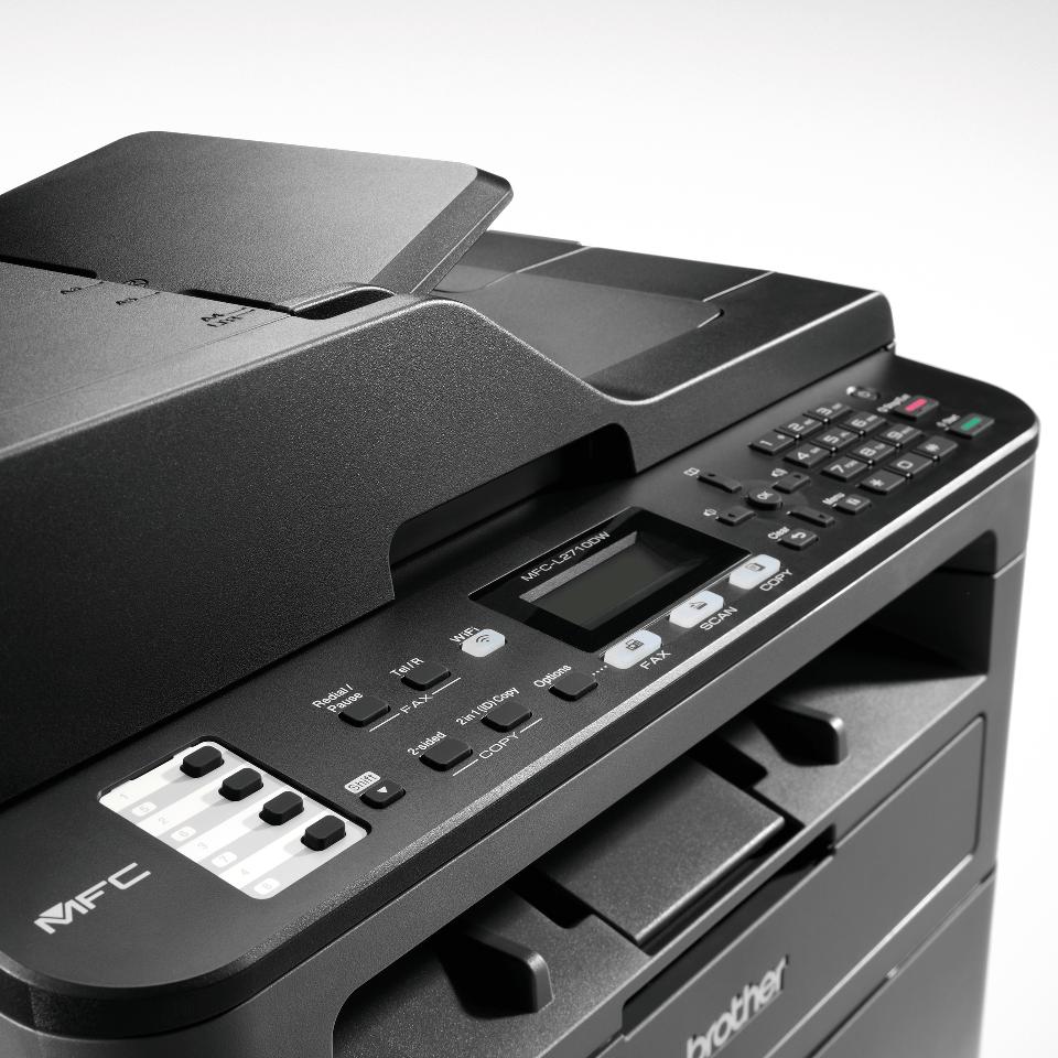 MFC-L2710DW Stampante multifunzione laser monocromatica con WiFi 5