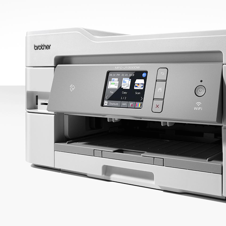 MFC-J1300DW Stampante multifunzione inkjet con inclusi 3 anni di stampe 4