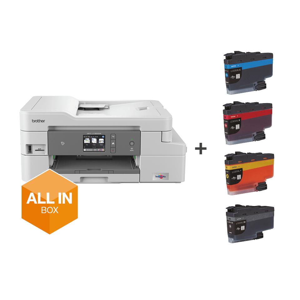 MFC-J1300DW Stampante multifunzione inkjet con inclusi 3 anni di stampe 7