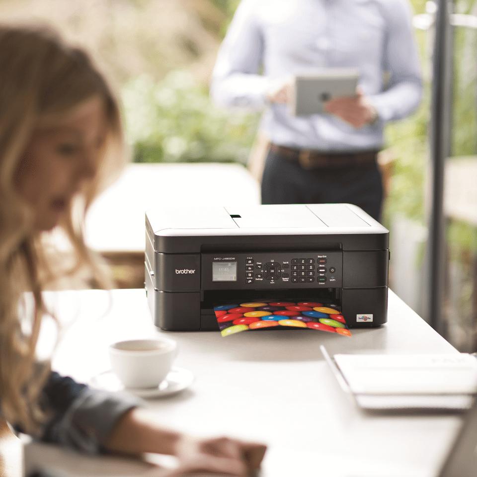 MFC-J480DW Multifunzione inkjet con WiFi 5