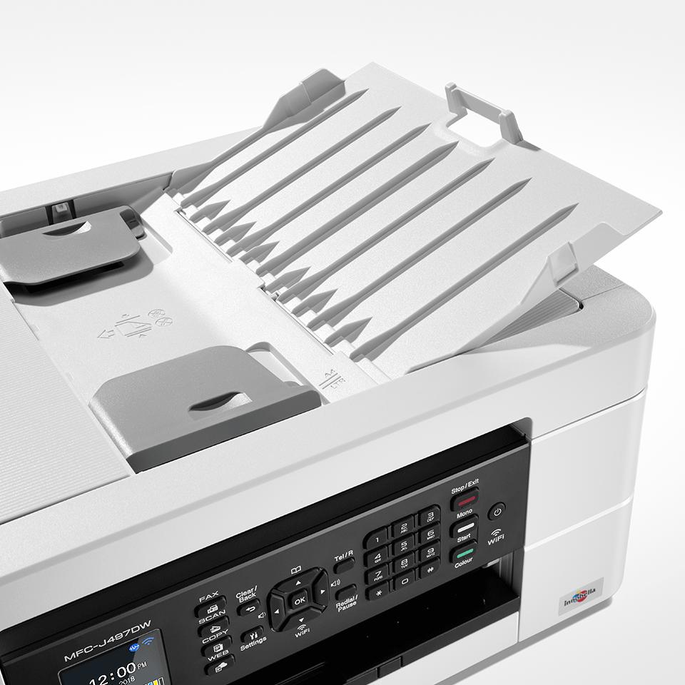 MFC-J497DW Stampante multifunzione inkjet compatta con Wi-Fi 5