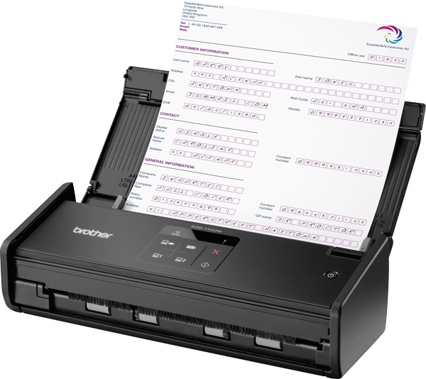 ADS-1100W Scanner compatto wireless 2