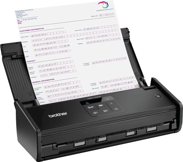 ADS-1100W Scanner compatto wireless 3
