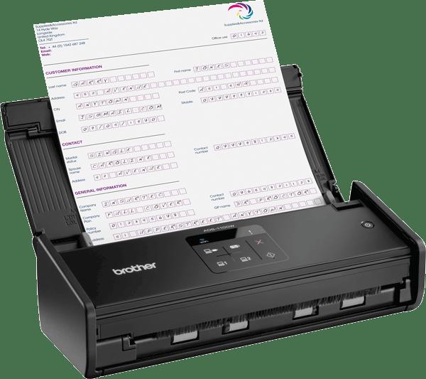 ADS-1100W Scanner compatto wireless 3