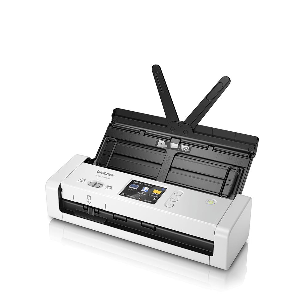 ADS-1700W Scanner desktop compatto con duplex (DUAL CIS) e Wi-Fi