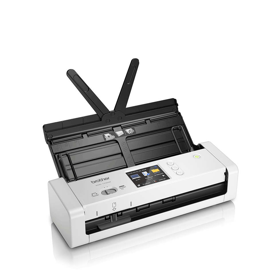 ADS-1700W Scanner desktop compatto con duplex (DUAL CIS) e Wi-Fi 2