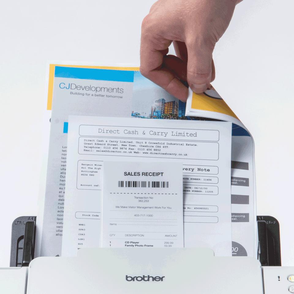 ADS-2200 Scanner documentale desktop ad alta velocità, con ADF  7