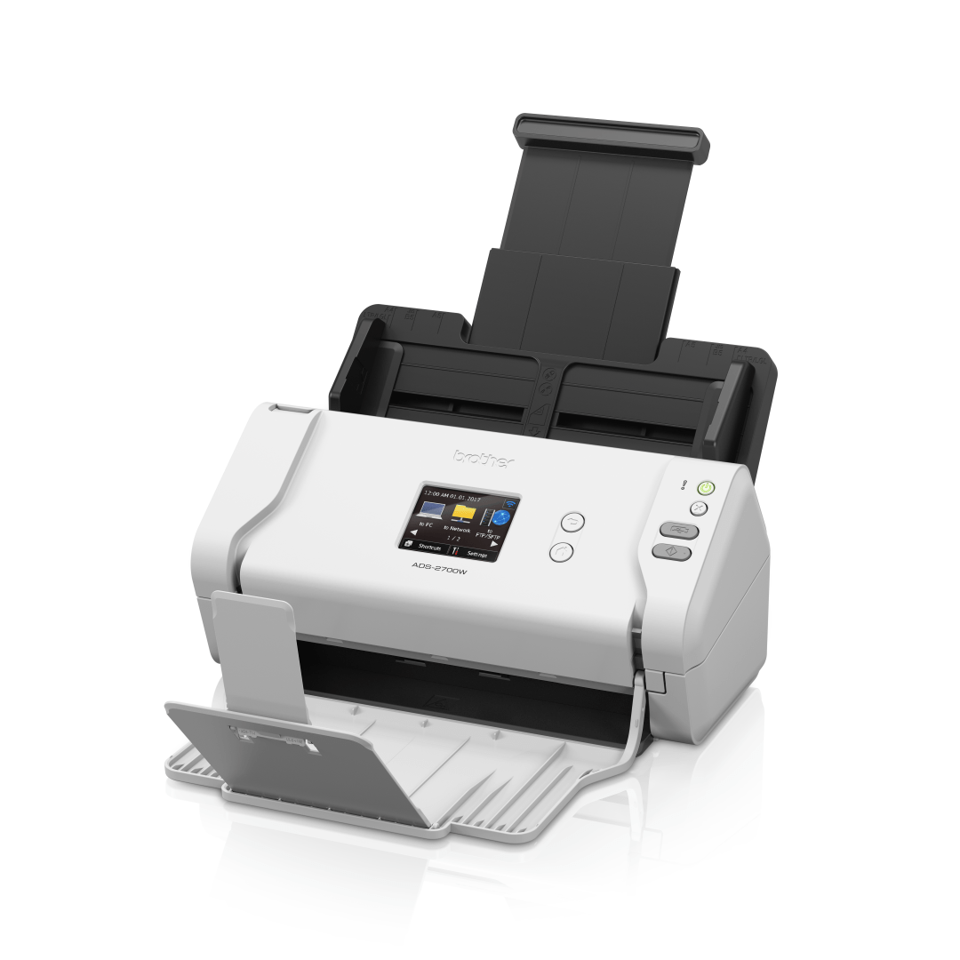 ADS-2700W Scanner documentale con rete cablata e wireless 2