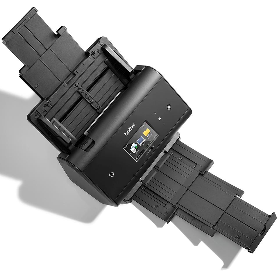 ADS-3600W Scanner con touchscreen, WiFi e rete cablata 4