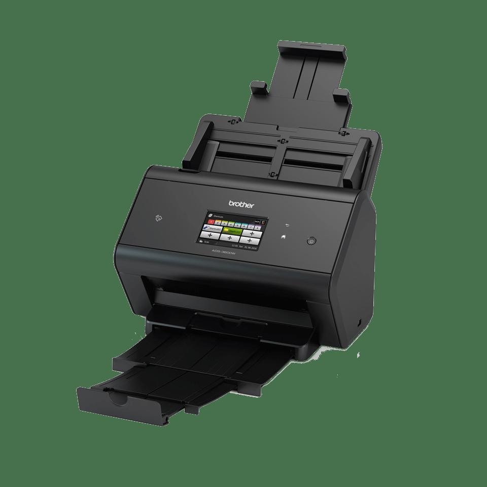 ADS-3600W Scanner con touchscreen, WiFi e rete cablata 2