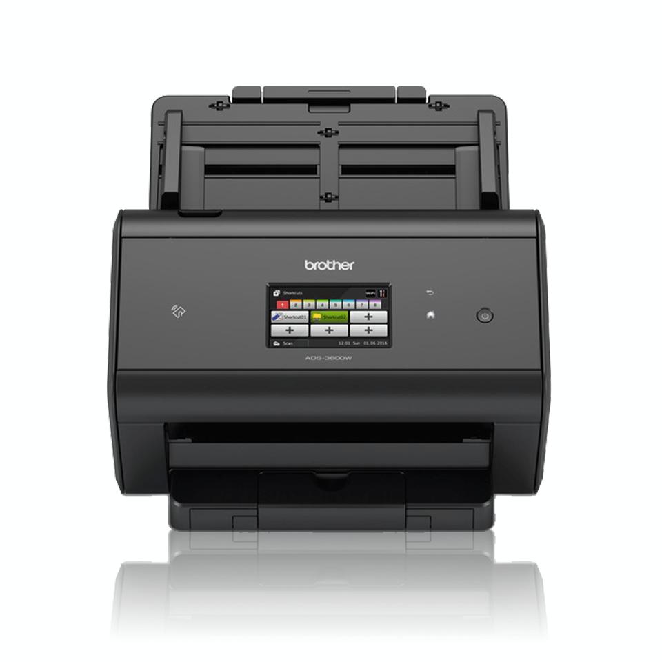 ADS-3600W Scanner con touchscreen, WiFi e rete cablata