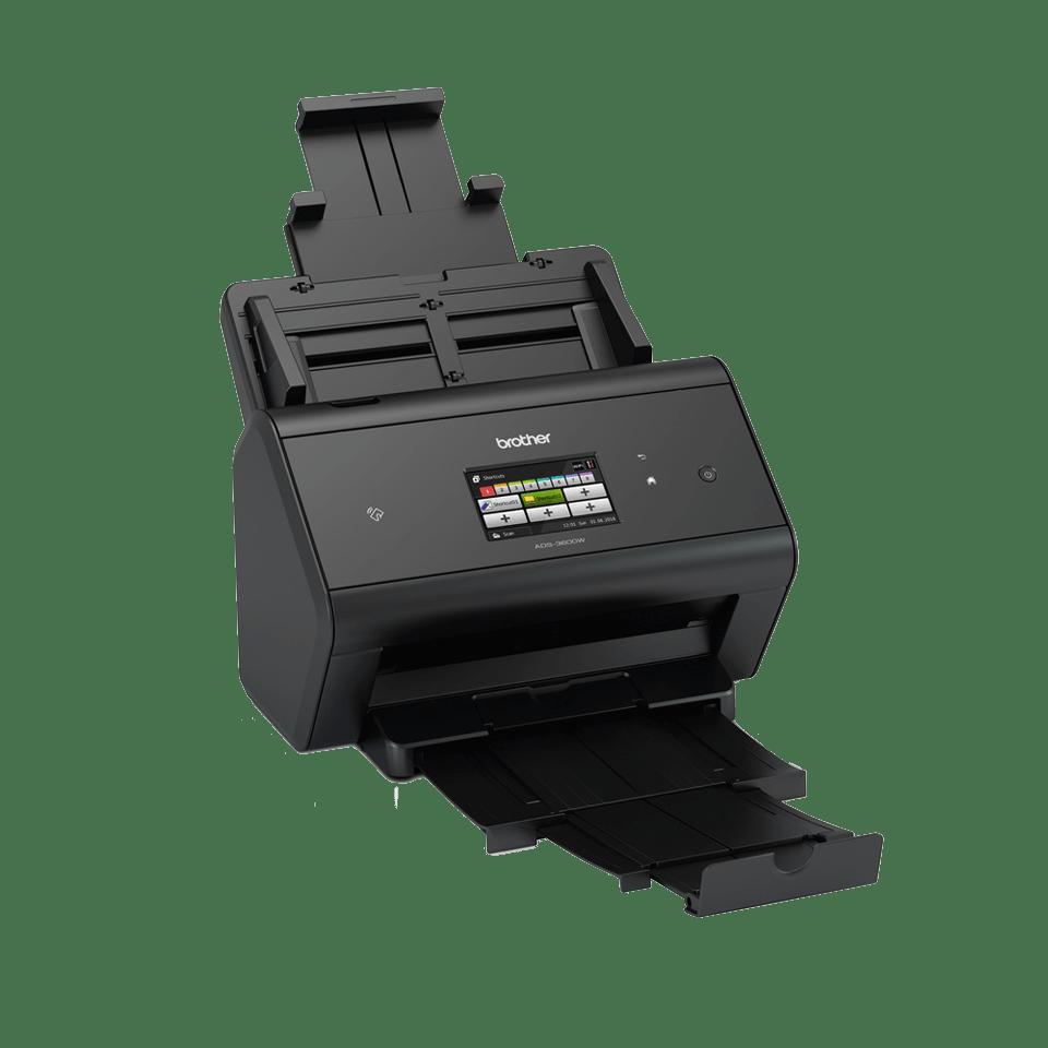 ADS-3600W Scanner con touchscreen, WiFi e rete cablata 3