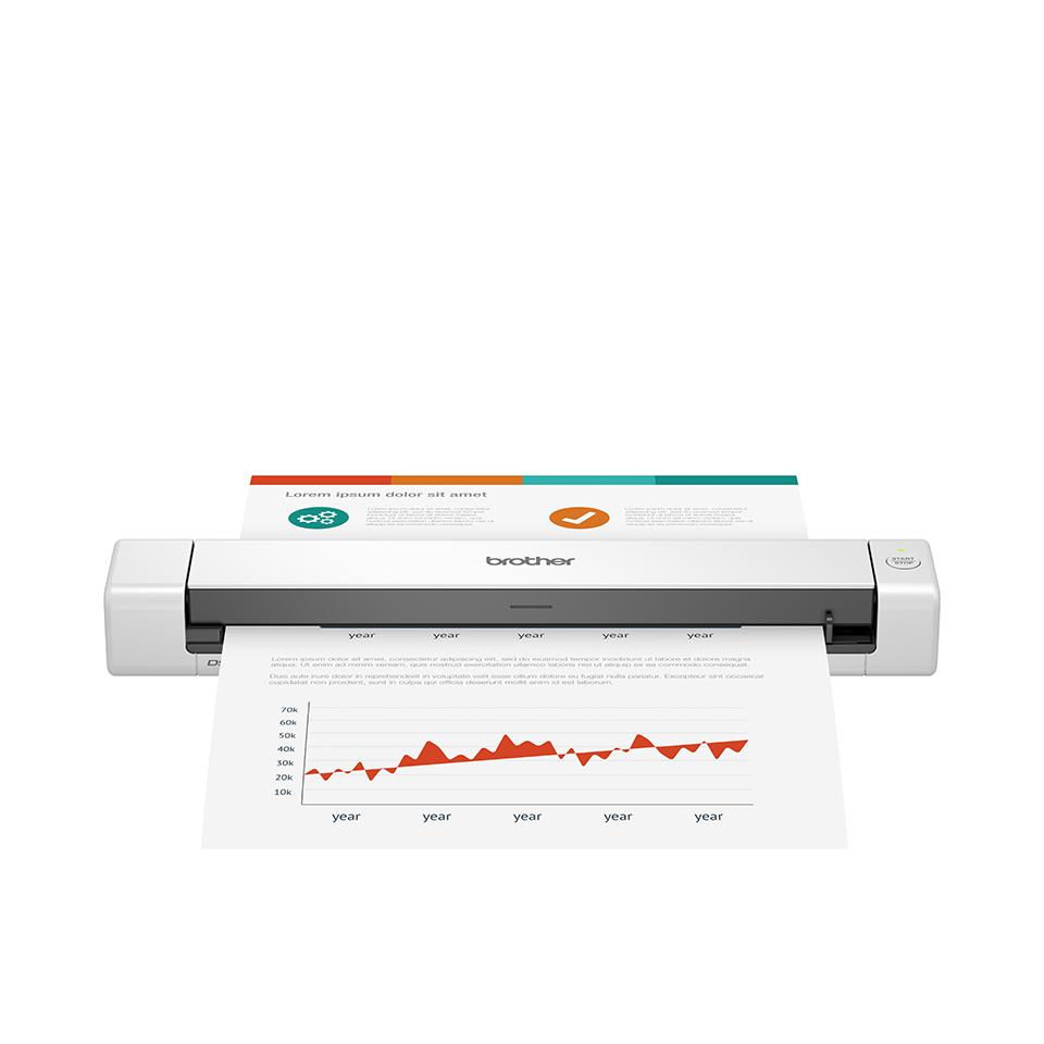 Brother DS-640 Scanner portatile per documenti