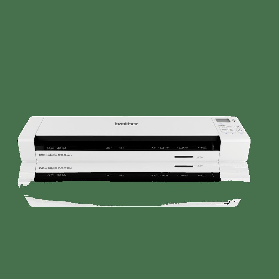 DS-920DW Scanner portatile WiFi Fronte-Retro 2