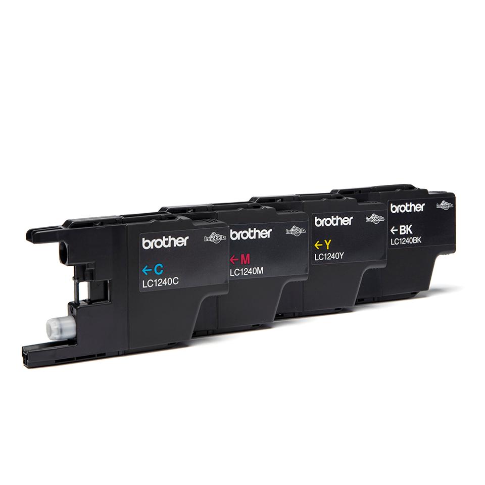 Brother LC1240VALBP Confezione da 4 cartucce inkjet originali 2